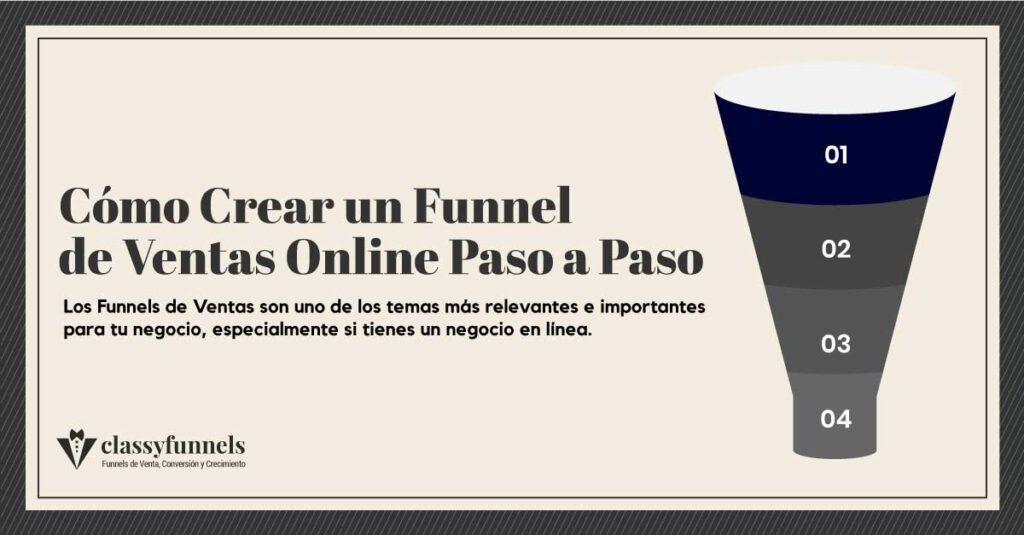 Cómo crear un funnel de ventas online paso a paso