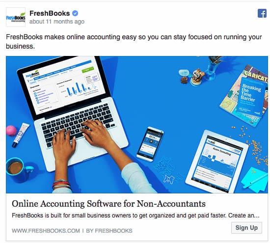 classyfunnels - Cómo hacer Publicidad en Facebook - Anuncios de Facebook - Ejemplo de Anuncio